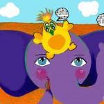 El elefante cantante
